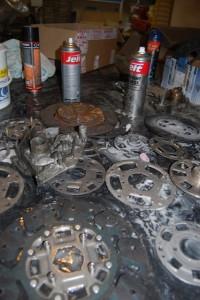 3-démontage et nettoyage disques Valeo