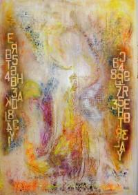 La femme lumière (150X104  - panneau rétro-éclairé)