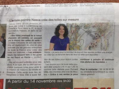 article novembre 2012
