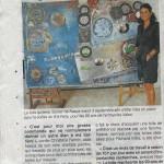 article OUEST FRANCE 2013 toile pour Valeo